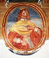 Portrait of Henry I of Cyprus in Galatina (Lecce).jpg