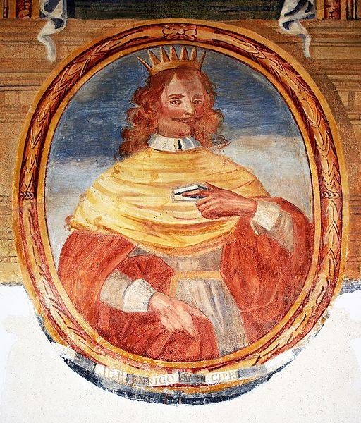 File:Portrait of Henry I of Cyprus in Galatina (Lecce).jpg