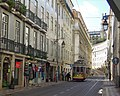 Portugal (Lisbon) Famous Tram No. 28 brings you to some very important sights of the city. (35620924060).jpg