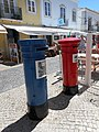 Post Boxes in Lagos, Portugal, 31 July 2015.JPG