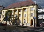 Post Office 1 Kecskemét, listed old part, 2016 Hungary.jpg