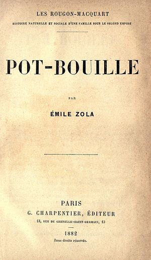 Pot-Bouille - First edition title page.