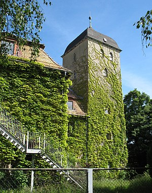 Pouch, Germany - Image: Pouch castle tower