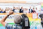 Präsentation Paradetruck Jugend gegen AIDS zur ColognePride 2018 am Köln Bonn Airport-7266.jpg