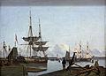 Prömmel Julius Kopenhagener Hafen Landesmuseum Hannover.JPG