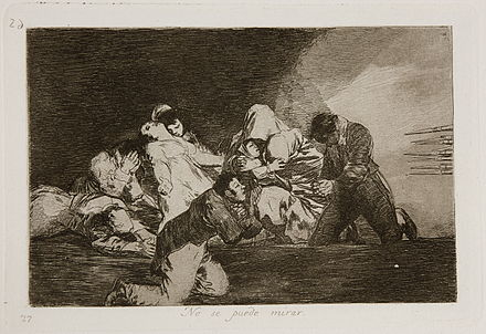 Goya's No se puede mirar