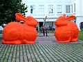 Praha, Malá Strana, Sovovy Mlýny, zajíci.jpg