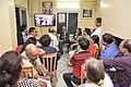 Pranatosh Sengupta Addresses From Canada Through Skype - Opening Ceremony - PAD 5th Free Short Term Course On Photoshop - Kolkata 2018-02-10 1211.JPG