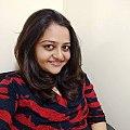 Prarthi Dholakia in her writer's seat.jpg