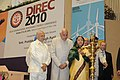 Pratibha Devisingh Patil lighting the lamp to inaugurate the Delhi International Renewable Energy Conference 2010 (DIREC 2010), organised by the Ministry of New & Renewable Energy, in New Delhi on October 26, 2010.jpg