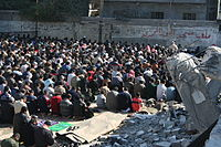 Praying in Defiance - Flickr - Al Jazeera English.jpg