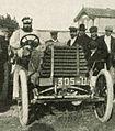 Premier vainqueur au Mont Ventoux Paul Chauchard, sur Panhard 70 hp en 1902.jpg