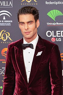 Jon Kortajarena Spanish model and actor