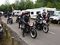 Preparation for the race, Velocette No95 & Norton No85.JPG