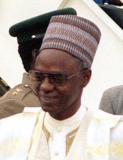 Shehu Shagari President of Nigeria