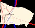 Pressigny-les-Pins - Carte routes et rivières.png