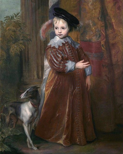 Prince William II of Orange, by Anthony van Dyck