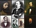 Principalii participanti la Expozitia artistilor in viata din anul 1870.jpg