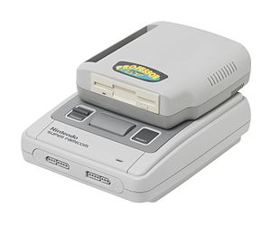 Game backup device - The Professor SF is a backup device for the Super Famicom and allows for saving games to floppy disks.