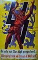 Propaganda Poster SS-Freiwilligen-Grenadier-Division Langemarck met opschrift De asche van Claes klopt op mijne borst ... Uilenspiegel roept ook U naar de Waffen SS.jpg