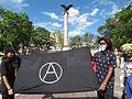Protesta en favor de los profesores de Oaxaca, en la plaza principal de Aguascalientes (junio, 2016) 8.jpg