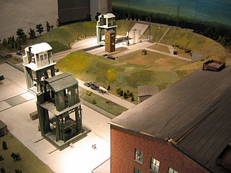 Test Stand VII - Diorama at Peenemünde Historical and Technical Information Centre