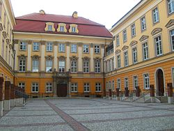 Prussian royal castle-dziedziniec