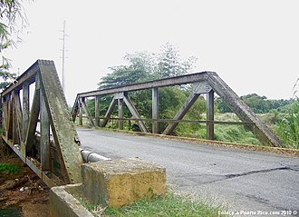 National Register of Historic Places listings in western Puerto Rico - Image: Puente de Coloso Aguada Puerto Rico