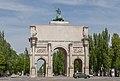 Puerta de la Victoria, Múnich, Alemania, 2012-04-30, DD 01.JPG