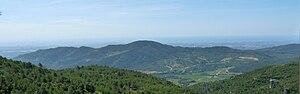 Prades Mountains - View over the Puig d'en Cama