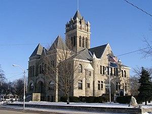 Pulaski County, Indiana - Pulaski County Courthouse in Winamac