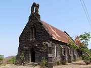 Purandar Fort church