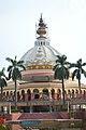 Pushpa Samadhi Mandir Dome With Spires - ISKCON Campus - Mayapur - Nadia 2017-08-15 2299.JPG