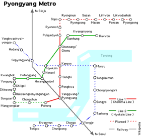 Image illustrative de l'article Métro de Pyongyang