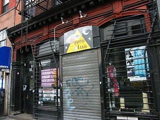 Pyramid Club (New York City) Gay nightclub in Manhattan, New York
