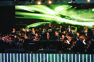 Azerbaijani classical music - Gabala International Music Festival is one of the most popular music festivals in Azerbaijan.