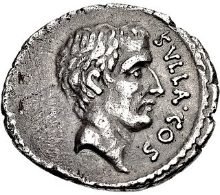 Sulla Ancient Roman general, consul and dictator