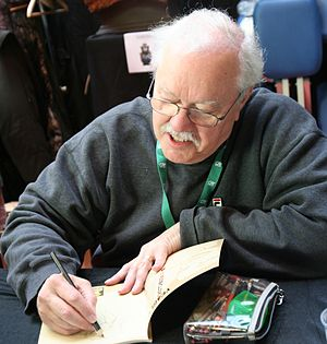 Dean Yeagle - Dean Yeagle in Quai des Bulles, Saint-Malo comics festival, 2012