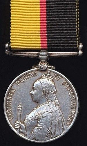 Queen's Sudan Medal - Image: Queen's Sudan Medal (Obverse)