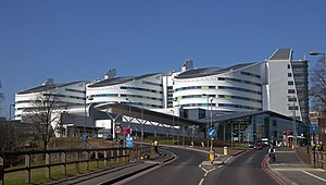 Queen Elizabeth Hospital Birmingham, Edgbaston, Birmingham, England-7March2011