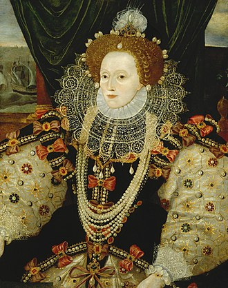 Armada Portrait - Image: Queen Elizabeth I by George Gower