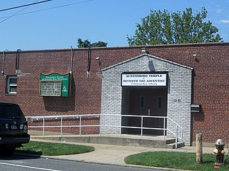 South Jamaica, Queens - Image: Queensboro Temple SDA Sjam 9650 222 St jeh