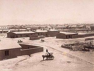Balochistan, Pakistan - Quetta cantonment in 1889