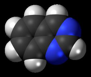 Quinazoline - Image: Quinazoline 3D spacefill