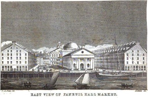 QuincyHall Bowen PictureOfBoston 1838