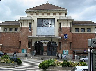 Gare de Massy – Palaiseau - Image: RER B Massy P1