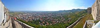 Deva, Romania - Image: RO HD Deva Cetate Vedere EST