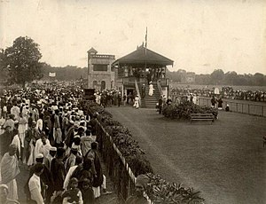 Suhrawardy Udyan - At the races, 1890