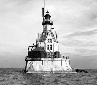 Racine Reef Light lighthouse in Wisconsin, United States