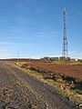 Radio mast on Collier Law, Crawleyside - geograph.org.uk - 297624.jpg